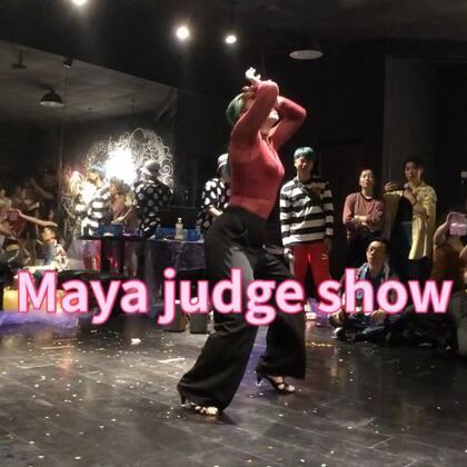 Sumday To Monday Maya Beijing judge show #waacking##舞蹈##puresoul#