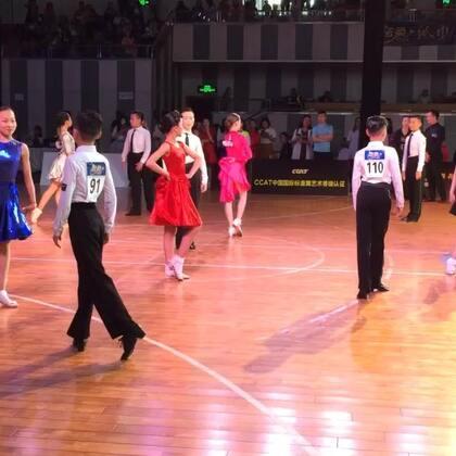 #i舞频道#2018CCAT城市联赛徐州站业余12岁拉丁决赛恰恰