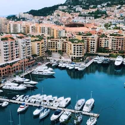 #摩纳哥##玩转地球#美的不像话的袖珍国风景秀美,此生一定要看哦