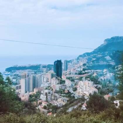 #开在摩纳哥#从法国进入摩纳哥公国
