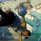 男孩玩花式篮球12年,成济南花式篮球顶尖玩家,街头炫技引围观#二更视频##运动##我要上热门#