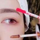 这个眼妆不会晕妆,简直不要太好看啦!yyangzbaby ←找洛洛#精选##眼妆教程##眼影化妆教程#
