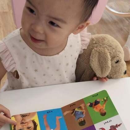 宝宝1岁7个月+ 宝宝每天跟着妈妈学英语。#宝宝##精选##宝宝英语启蒙#