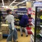 #陌生人背后尬舞挑战#头一次做这样的事情 有点 尴尬啊哈哈哈哈哈哈