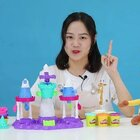 培乐多彩泥冰淇淋城堡套装 #玩乐星球##玩具拆箱##宝宝#