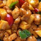 #菠萝咕咾肉##地方美食##菠萝咕噜肉#自制菠萝咕老肉做法教程