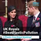 """英国哈里王子与美国女演员梅根举世瞩目的婚礼将于当地时间5月19日中午12点举行;这对80后新人积极响应""""皇奶奶""""的号令,将在婚礼期间注重环保、禁止使用塑料。现年92岁的#英女王伊丽莎白二世#早些时候下令,禁止在王室产业内使用塑料吸管和塑料瓶,以减少#塑料垃圾#对环境的影响。#塑战速决#"""