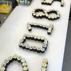 寿司小卷摆出来的2018520,过了4年的单身520,祝有情人幸福,也祝大家520快乐#520##热门#