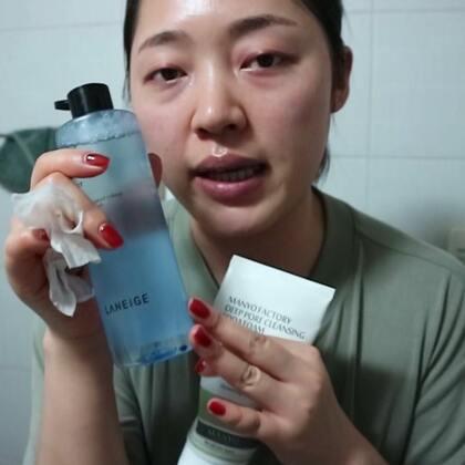 夏季卸妆水的测评(2)#兰芝卸妆水##新品测评##简单卸妆#
