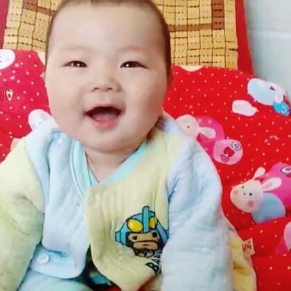 #帅气的小玉米🌽王子##可爱小玉米6个半月啦##乖巧可爱的宝宝#
