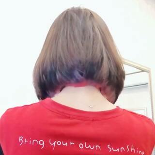 #撩发挑战# 头发里藏着彩虹🌈!好看吗?