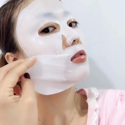 可以包住下巴的紧致提拉面膜😋#美妆时尚#