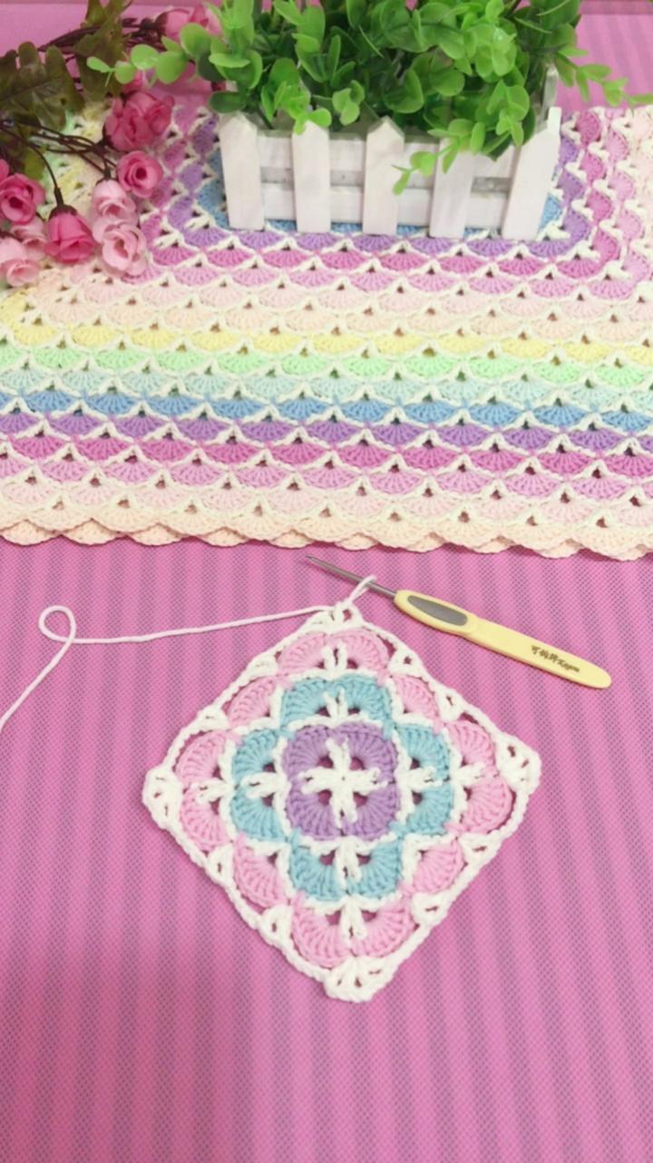 幻彩童年毯子教程