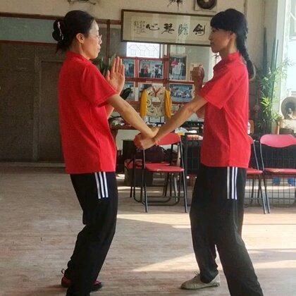 #咏春拳#三品掌对拆三星捶