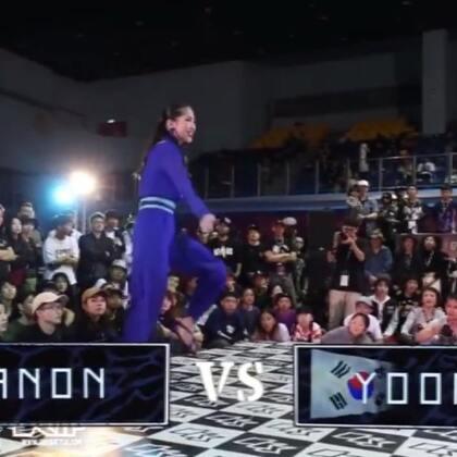OBS waacking Best4 Ayanon vs Yoonji(win) #waacking##舞蹈#