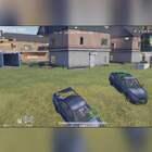 #荒野行动##游戏##搞笑# 决赛圈只有一辆车怎么办?只好开启碰碰车模式了!😏