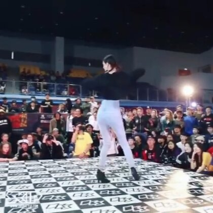 OBS waacking Best4 Maya(win) vs 小阿 #waacking##舞蹈#