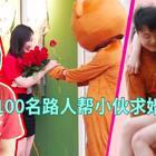 董哥发动100名路人求婚女神!#精选#