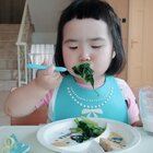 蛮殿下的健康晚餐#可爱吃货小萌妞##吃货小蛮#