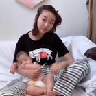 #精选##宝宝##女生都是蜈蚣精# 带娃儿也可以美美的@美拍小助手 @小顾毅的成长日记 @祉晴姐姐