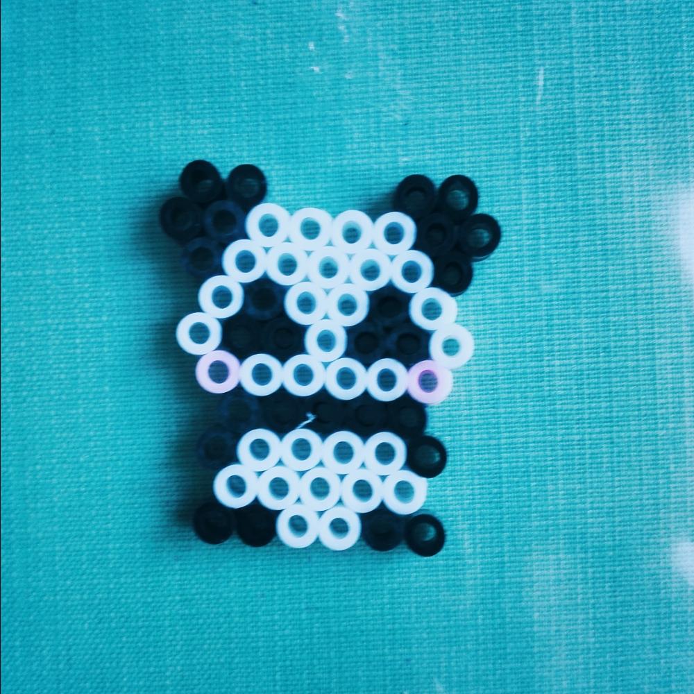 拼豆豆小熊猫