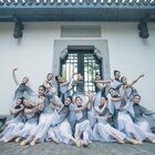 舞动的水墨画,颜思勤老师原创编舞,仿佛置身画中,美在其中~#古典舞##中国舞##舞蹈#