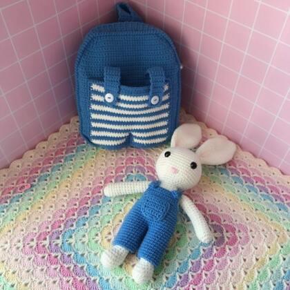 接下来出这款小兔子双肩包教程了哦??材料包已上架??