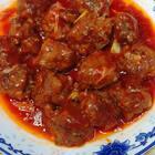 #美食##中餐厅菜谱复刻#牛肉丸裹满了浓浓的番茄汁,不油腻很开胃,我将精选3个评论点赞,送出100元现金红包,大家快来分享小tips和感想哦~