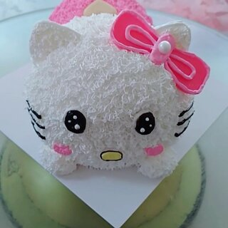#学猫叫手势舞# Hello Kitty#学猫叫#