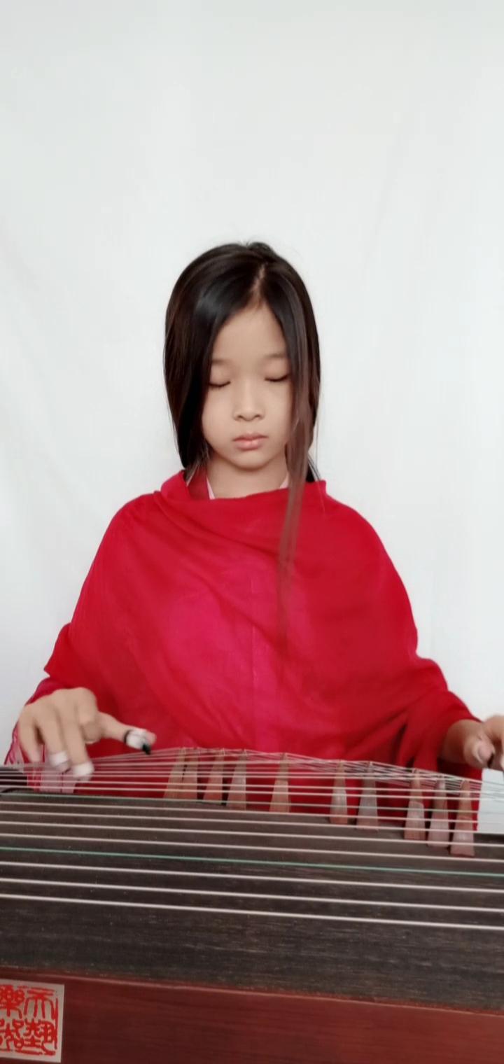 #音乐##我要上热门#刘珂埃的曲子都很好听,弹一段缥缃醉,希 ...