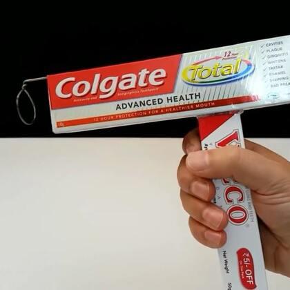 #手工#牙膏盒秒变泡泡机,好玩又简单,赶快试试吧#泡泡枪##吹泡泡#