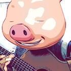 猜猜什么歌?!沉醉在音乐里的小猪猪😉