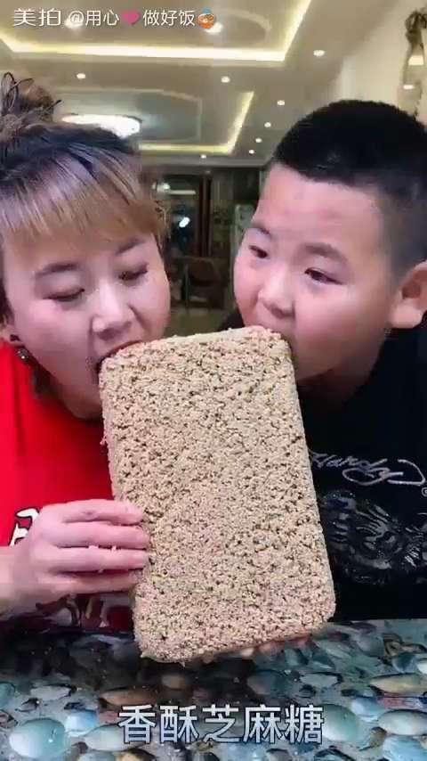 10元晚餐=香酥芝麻糖✌#我要上热门##美食##家常菜#