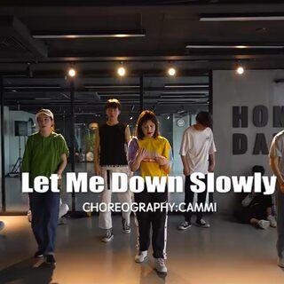 #舞蹈# 音乐:《let me down slowly》一首超好听的抒情歌曲,怎么听都不腻~~ #我要上热门@美拍小助手#