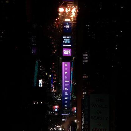 從紐約遙祝2020新年快樂!#新年快樂2020##2020#
