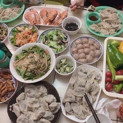 破五吃餃子嘍??????#吃秀#
