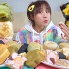 感謝之前不吃之恩??,才有了今天的母女吃播視頻!#密子君##美食##吃秀#