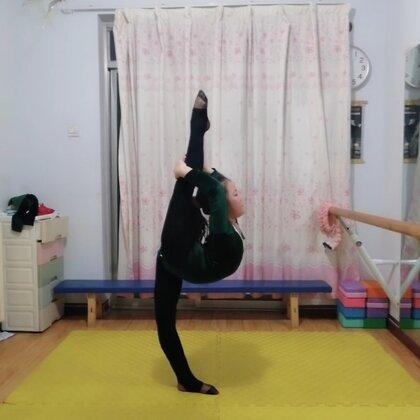 #舞蹈基本功練習#打卡練習作業??感謝美拍有你??