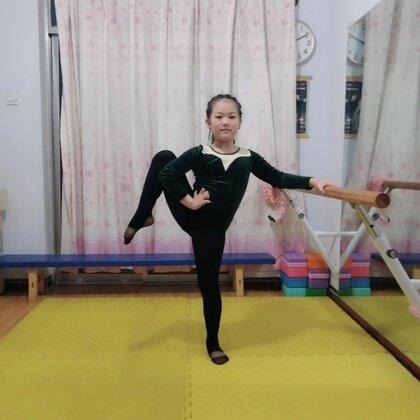 #舞蹈基本功練習#今天的練習是群里打卡的作業??不能上學就練起來吧??感謝美拍有你??