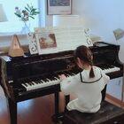 6Y11M,車爾尼299-5,在練記錄一下,不足之處仍需打磨。周內學校各種視頻課晚上各種形式作業,又只能依靠周末好好練琴了。在??帶弟弟學習的時候,??一個人把自己關在房間也可以認真練上一個小時,這也算是成長吧。不忘踏實和勤勉,一起加油??#鋼琴##音樂##車爾尼299#