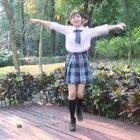 用美拍新的舞蹈特效給小七做了個視頻太可愛了??!@火箭少女101-賴美云 #百萬舞蹈特效#
