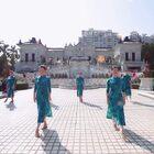 放假前的存貨,想問問辣媽班的學員們,旗袍還能塞進去嘛??好想上課了哈~#旗袍舞蹈#
