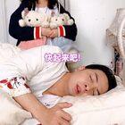 當你叫愛蹦迪的老爸起床...!??????#廣東夫婦##857##857蹦迪#