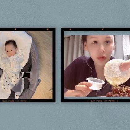最近就是能想起來拍的時候就多拍點日?,嵥閪雖然有點辛苦,但已經適應了有寶寶的日常作息了~每每看他,還是覺得好神奇?https://shop205476595.taobao.com #韓國vlog##寶媽日常#
