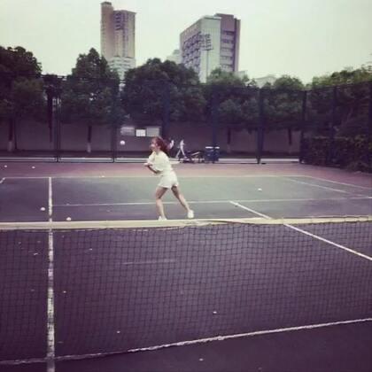 網球白癡…