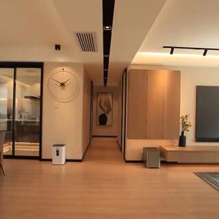 沒有主燈的裝修設計,加入黑色元素點綴,還挺簡單大氣得#曬曬我的家##裝修#