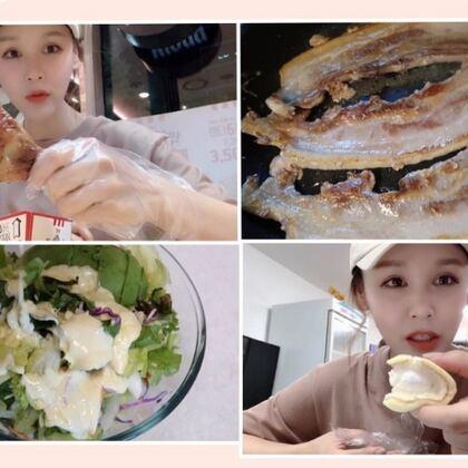 想你們~??#韓國vlog##美食##吃秀#
