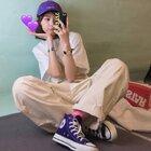 我永远爱匡威!日产小紫从颜色到鞋型到脚感都太正了吧!  #一周穿搭不重样##今天穿什么##时尚穿搭# 