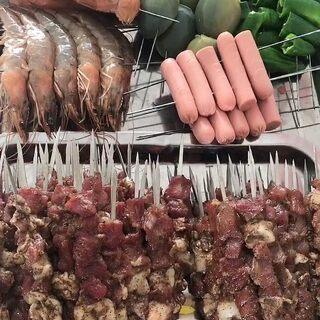 今天天氣好沒事在家烤點串吃 美食傳送門??https://k.ruyu.com/CJvUuZ7= #吃秀##熱門#