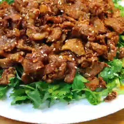 孜然羊肉比買的好吃#美食##我要上熱門@美拍小助手#